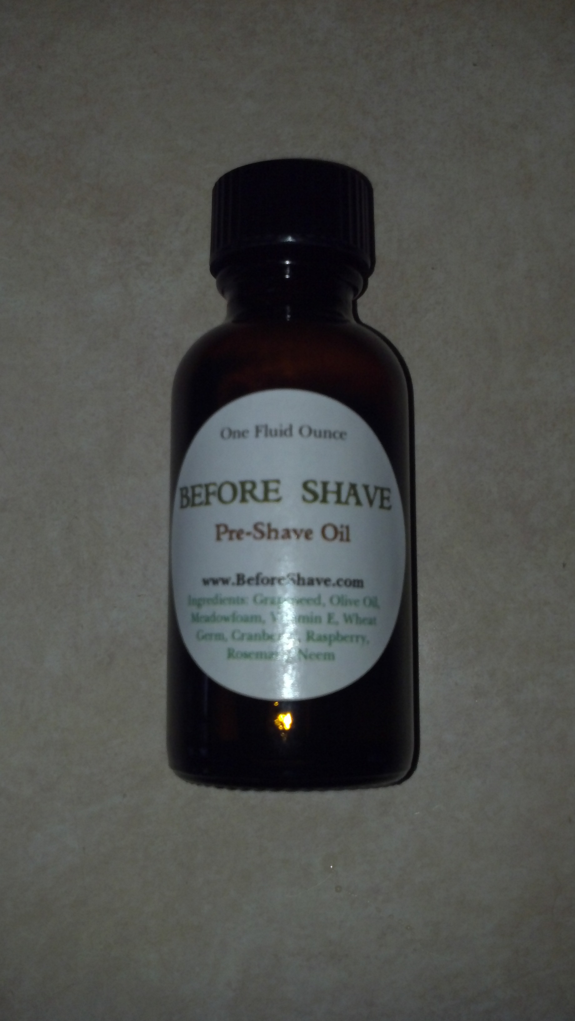 Before Shave Pre Treat Oil
